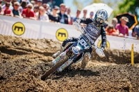Jeremy Sydow holte beim MX Masters in Möggers den Tagessieg im Youngster-Cup