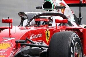 Kimi Räikkönen mit Halo