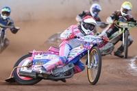 Adrian Gala (vorne) gewann nach Wittstock auch in Teterow