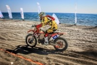 Das Red Bull Sea to Sky begann mit dem Beach Race