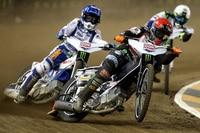 Weltmeister Tai Woffinden vor Nicki Pedersen