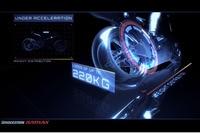 Die Arbeit eines MotoGP-Reifens unter der Lupe