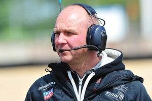 Jürgen Lingg, technischer Leiter und Miteigentümer des Moto2-Teams Dynavolt Intact GP