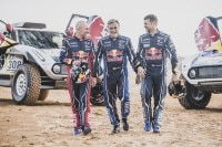 Stéphane Peterhansel, Carlos Sainz, Cyril Despres