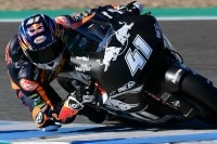 Brad Binder beim Moto2-Test in Jerez im November 2018