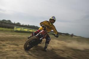 Ducati Scrambler: Damit müsste man doch trefflich sliden können?