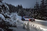 Erneut war Thirry Neuville der Pechvogel der Rallye