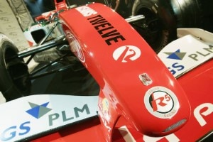 Formel-1-Renner plus Diamant