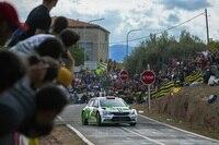 Pontus Tidemand feierte in Spanien seinen ersten WRC2-Sieg