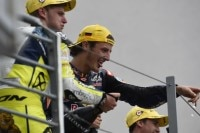 Jack Miller feiert den Sieg auf dem Sachsenring