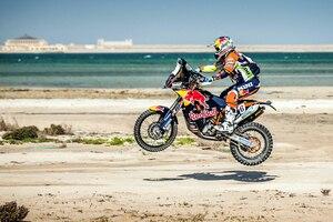 Matthias Walkner (KTM) beendete die Katar-Rallye auf dem dritten Platz