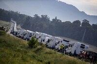 Die Motorhome-Dichte lässt in Italien nichts zu wünschen übrig