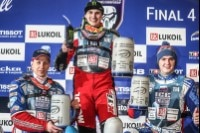 Die Top-3 in Inzell