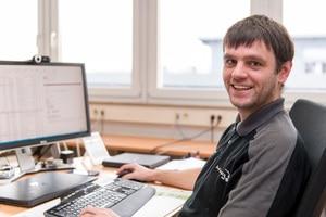 Systemadministrator Mario Skobowsky