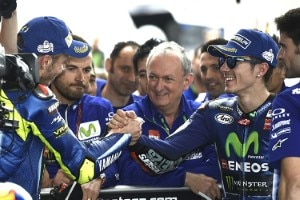 Valentino Rossi und Maverick Viñales