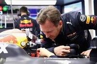 Christian Horner am Wagen von Max Verstappen