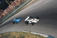 Peter Gethin vor Chris Amon in Monza 1971