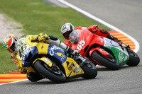 Mugello 2006: Valentino Rossi vor Loris Capirossi
