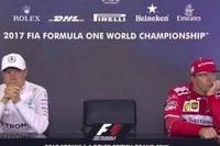 Valtteri Bottas und Kimi Räikkönen eher semi-begeistert