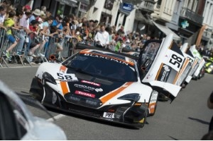 Der McLaren 650S GT3 in Spa-Francorchamps
