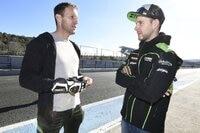 Neil Hodgson und Jonathan Rea trafen sich beim Wintertest in Jerez