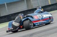 Phil Croft und Sophie Sattelberger auf dem TT Circuit Assen
