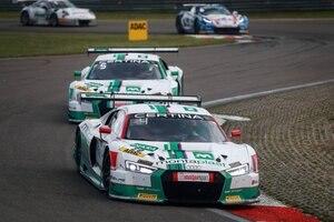 Die beiden Audi R8 LMS von Land-Motorsport in Zandvoort