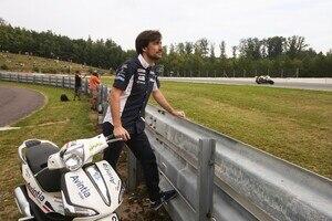 Angel Nieto Jr. arbeitet als Riding Coach für das Avintia-Team