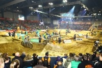 SuperEnduro Riesa am 6. Januar 2018
