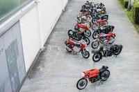 Fast alle 20 zum Verkauf stehenden Maschinen auf einem Bild