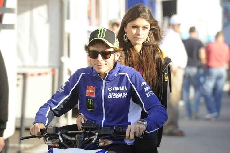 Valentino Rossi Freundin