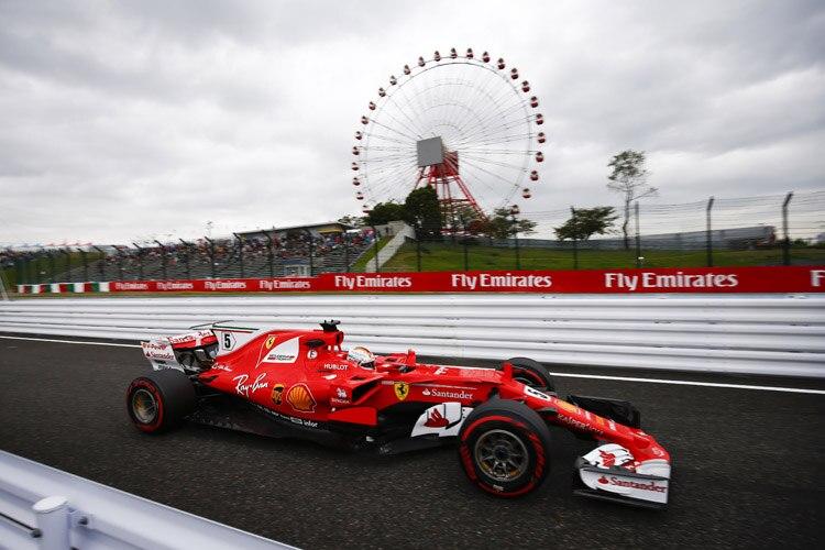 Sebastian Vettel war im ersten freien Training der Schnellste