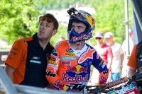Jeffrey Herlings (re.) muss in Italien pausieren
