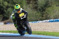 Beim Jerez-Test im November lag Alvaró Buatista mit der MotoGP-Ducati 0,225 sec hinter Rea