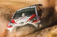 Jari-Matti Latvala pflügte sich zum zweiten Platz