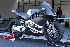 Die von WP gebaut Moto2-Maschine aus Österreich