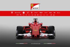So sieht der Ferrari SF70-H aus