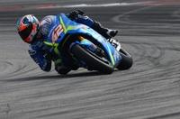 Der MotoGP-Rookie auf der Suzuki GSX-RR