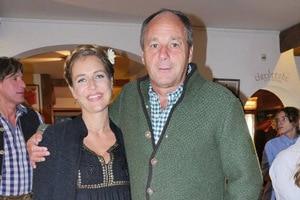 Gerhard Berger und seine Lebensgefährtin Helene