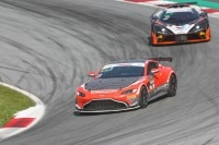 Bestzeit in den freien Trainings am Red Bull Ring für den Aston Martin Vantage GT4 von Propeak Performance