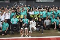 Mercedes feiert den Doppelsieg