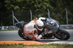 KTM-Moto2-Testfahrer Ricky Cardus in Brünn: das wäre das neue Bike für Tom Lüthi