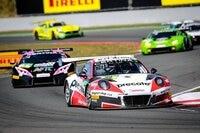 Aktuell Rang drei: Der Porsche von Herberth Motorsport