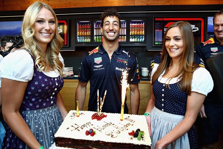 Daniel Ricciardo Sieg Am Geburtstag Eine Raritat Formel 1 Speedweek