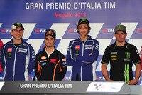 In Mugello: Lorenzo, Pedrosa, Rossi und Crutchlow