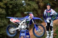 Jeremy Seewer im Outfit des Yamaha-Werksteams