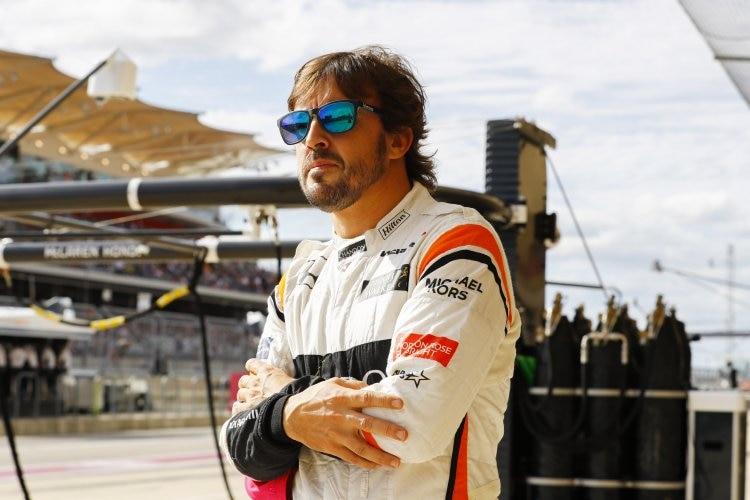 24-Stunden-Rennen in Daytona mit Alonso