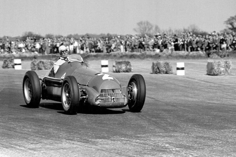 Erste Formel 1 Rennen 1950
