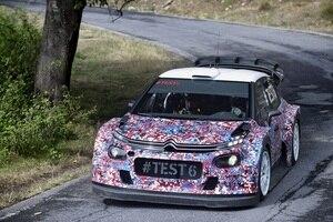 Der Citroen C3 WRC im Test