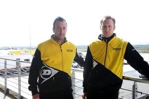 Echte Profis: Alexander Kühn (li.) und Bernd Seehafer